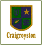 Craigie Embroidered Badge
