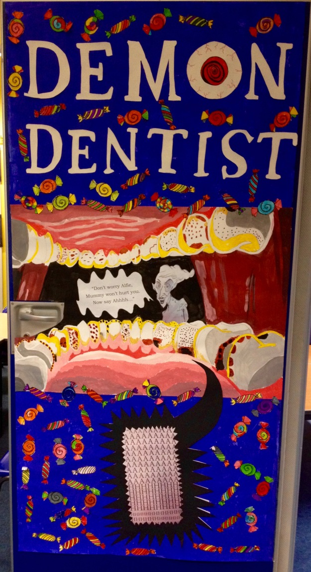 P3S Scottish Book Week Door Art